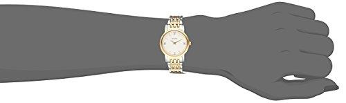Bulova Women's Diamond Accented Silver-Tone Bracelet Watch Bulova Women's 98P115 Diamond Accented Silver-Tone Bracelet Watch