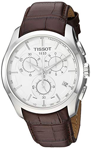Tissot Men's Couturier Silver Stainless Steel Chronograph