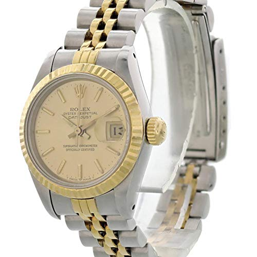 Rolex Datejust Automatic-self-Wind Female Watch Rolex Datejust Automatic-self-Wind Female Watch 69173 (Certified Pre-Owned)