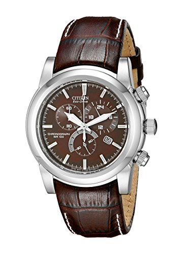 Citizen Men's Eco-Drive Chronograph Watch with Date