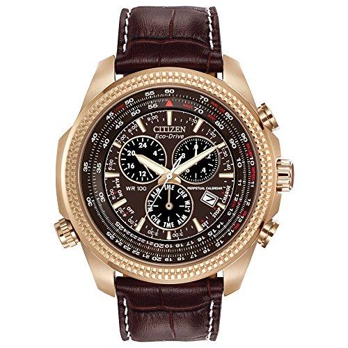 Citizen Men's Eco-Drive Chronograph Watch with Perpetual Calendar