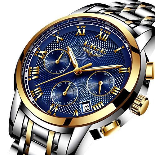 Watches,Mens-Watch Waterproof Stainless Steel Analog Quartz