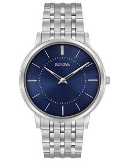 Bulova Men's Classic Collection Quartz Blue Dial Watch