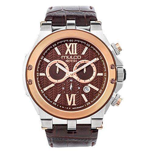 Mulco Nefesh Iconic Quartz Swiss Chronograph Movement Unisex Watch