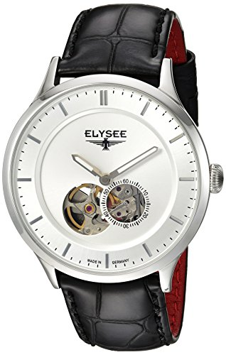 ELYSEE Men's 'Classic-Edition' Automatic Stainless Steel Watch