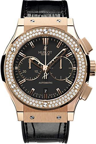 Hublot Classic Fusion Chronograph Rose Gold Diamonds Watch