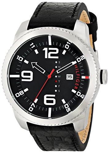 Tommy Hilfiger Men's Analog Display Quartz Black Watch