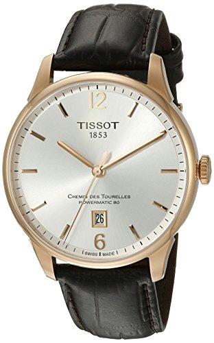 Tissot Men's Chemin Des Tourelles Powermatic 82 Automatic Brown Watch