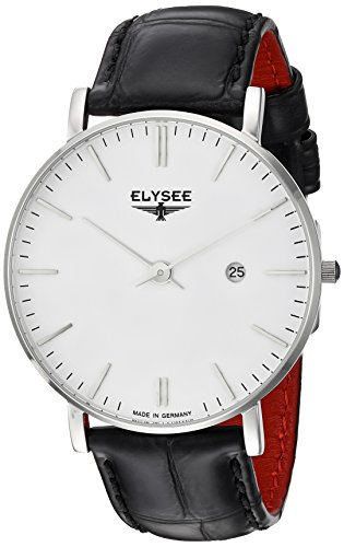 ELYSEE Men's 'Classic-Edition' Quartz Stainless Steel Watch