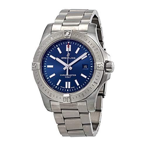 Breitling Chronomat Colt Automatic 44 Blue Dial Men's Watch