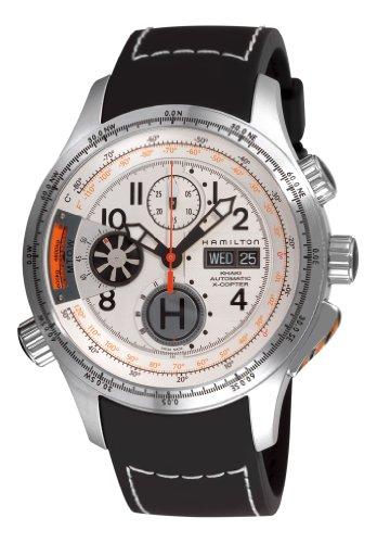 Hamilton Men's Khaki White Chronograph Dial Watch
