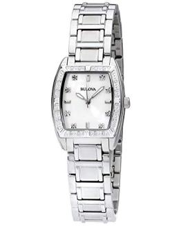 Bulova Women's HIGHBRIDGE Diamond Bezel Watch