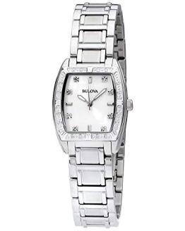 Bulova Women's HIGHBRIDGE Diamond Bezel Watch