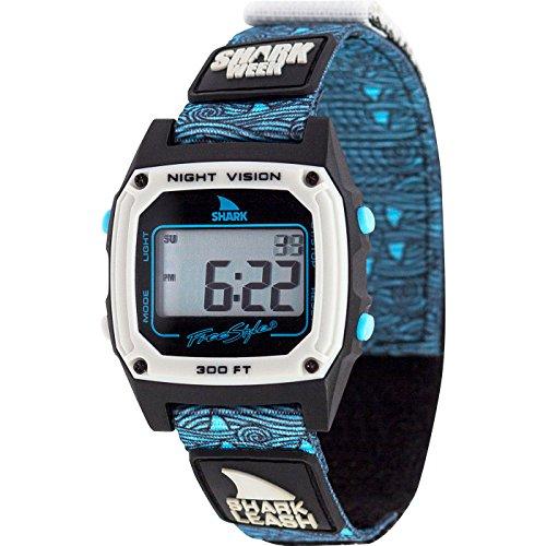 Freestyle Shark Classic Leash Shark Week Blue Fin Unisex Watch