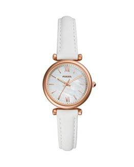 Fossil Women's Carlie Mini Stainless Steel Quartz Watch