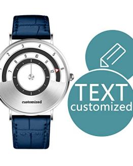 Customized Men Watches Speed Collection with Text Personalized