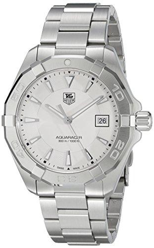 TAG Heuer Men's 'Aquaracer' Quartz Stainless Steel Dress Watch