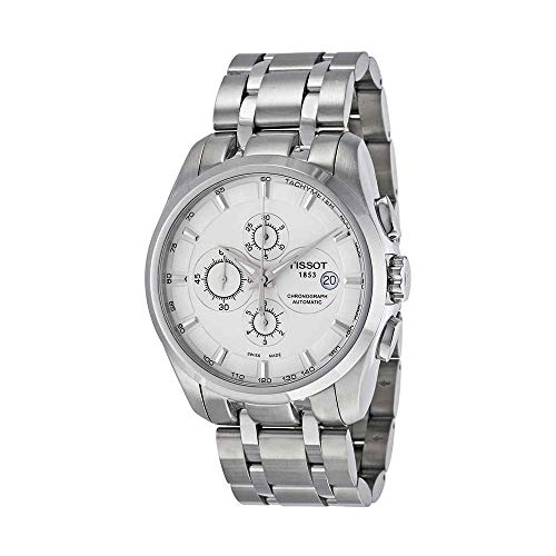 Tissot Men's Couturier Analog Display Swiss Automatic Silver Watch