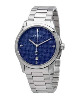 Gucci G-Timeless Diamante Blue Dial Ladies Watch