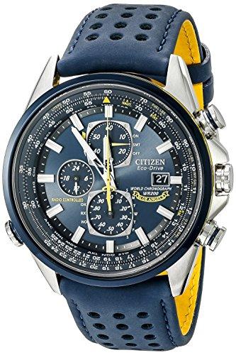 Citizen Men's Eco-Drive Blue Angels World Chronograph Watch