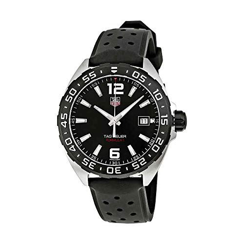 TAG Heuer Men's Formula 1 Stainless Steel Watch with Black Band