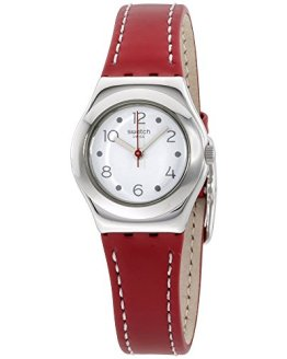 Swatch Cite Vibe Ladies Leather Strap Watch