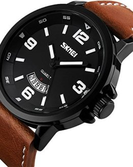 MJSCPHBJK Men's Business Quartz Watch, Casual Fashion Analog Wrist Watch
