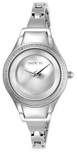 Invicta Women's Angel Quartz Watch with Stainless-Steel Strap, Silver