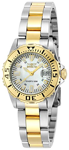 Invicta Women's Pro-Diver Stainless Steel 18k Yellow Gold-Plated Watch