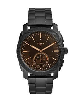 Fossil Q Men's Machine Stainless Steel Hybrid Smartwatch