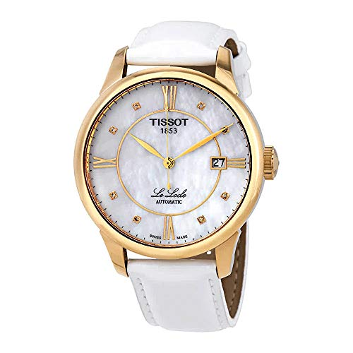 Tissot Le Locle Automatic Mother of Pearl Diamond Dial Ladies Watch