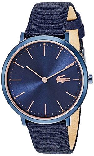 Lacoste Women's Moon Ultra Slim Stainless Steel Quartz Watch