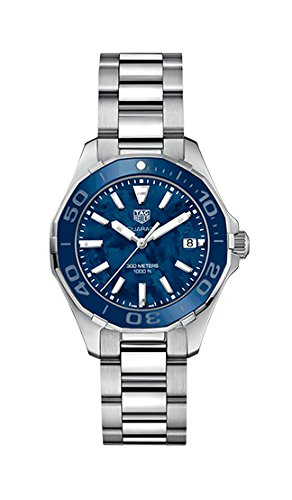 Tag Heuer Aquaracer Blue Mother of Pearl Dial Ladies Watch