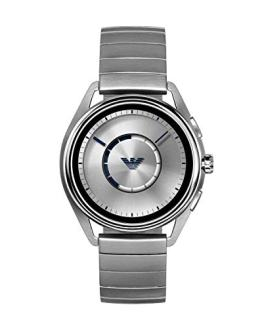 Emporio Armani Men's Stainless Steel Plated Touchscreen Smartwatch