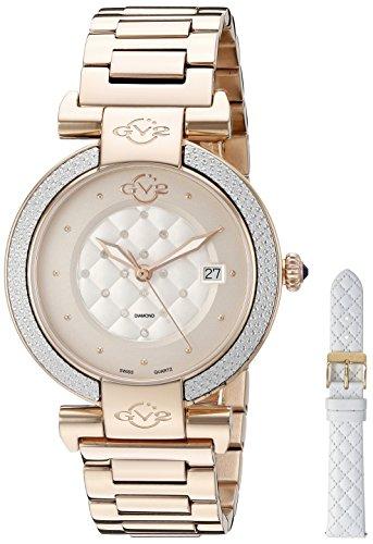 GV2 by Gevril Berletta Womens Diamond Swiss Quartz Watch