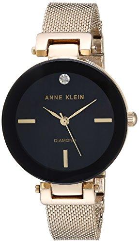 Anne Klein Women's Japanese-Quartz Watch with Stainless-Steel Strap