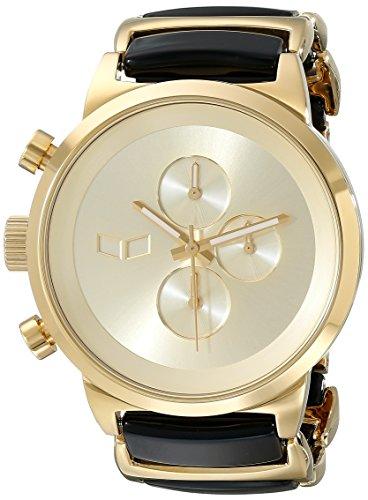 Vestal Unisex Metronome Analog Display Quartz Gold Watch