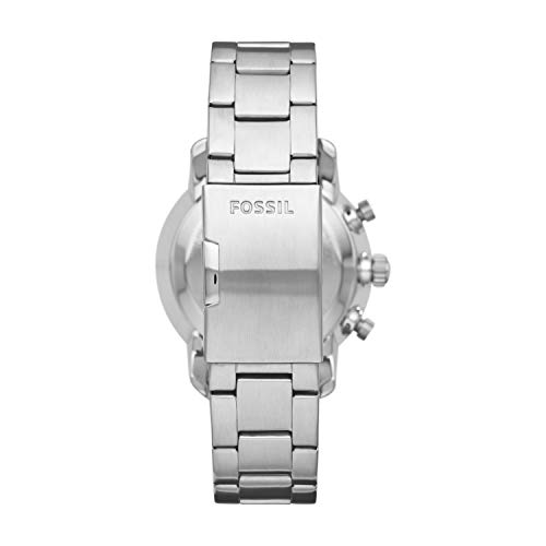 Fossil Men's Hybrid Smartwatch Watch  Fossil Men's Hybrid Smartwatch Watch with Stainless-Steel Strap, Silver, 22 (Model: FTW1173)