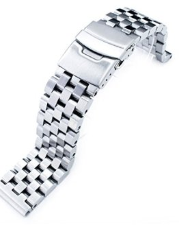 Engineer Type II Solid Stainless Steel Straight End Watch Band
