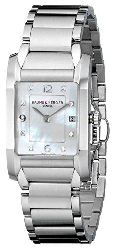 Baume & Mercier Women's Quartz Stainless Steel Mother-of-Pearl Dial Watch