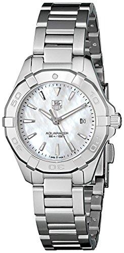 TAG Heuer Women's Aquaracer Analog Display Quartz Silver Watch