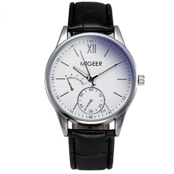 MIGEER Men watches 2017 high quality brand Luxury Fashion