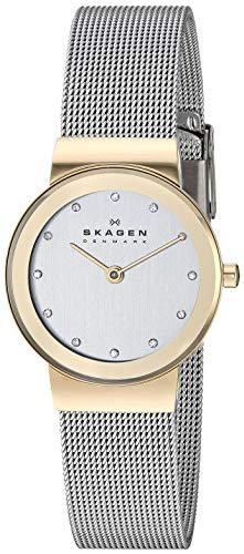 Skagen Women's Ancher Quartz Two-Tone Stainless Steel Casual Watch