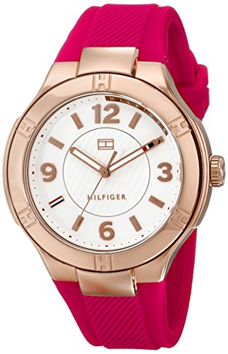 Tommy Hilfiger Women's Analog Display Quartz Pink Watch