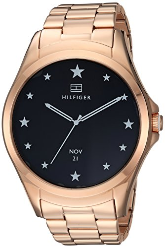 Tommy Hilfiger 'Smartwatch' Quartz, Rose Gold Ion-Plated Stainless Steel