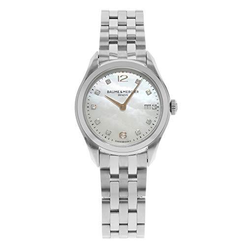Baume & Mercier Clifton Quartz Female Watch (Certified Pre-Owned)