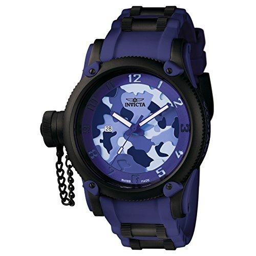 Invicta Men's Russian Diver Collection Camo Watch