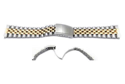 Seiko Dual Tone Jubilee Style 20mm Watch Band