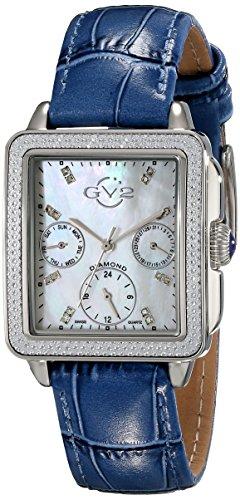 GV2 by Gevril Bari Multi Womens Diamond Chronograph Watch