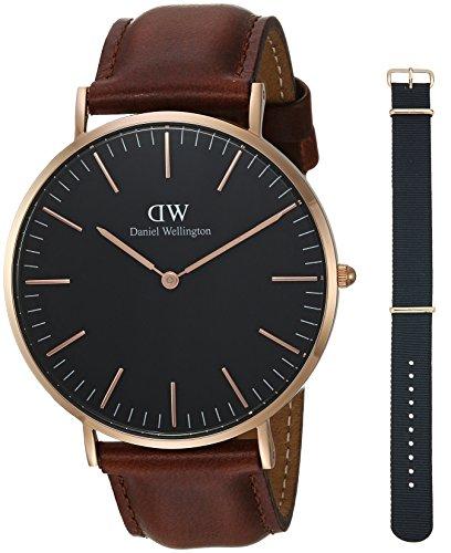 Daniel Wellington Gift Set, Classic Black St Mawes 40mm Watch